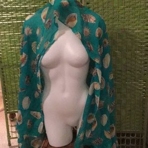 🐚 NWT Oversized Shell Scarf Wardrobe Must Have🐚